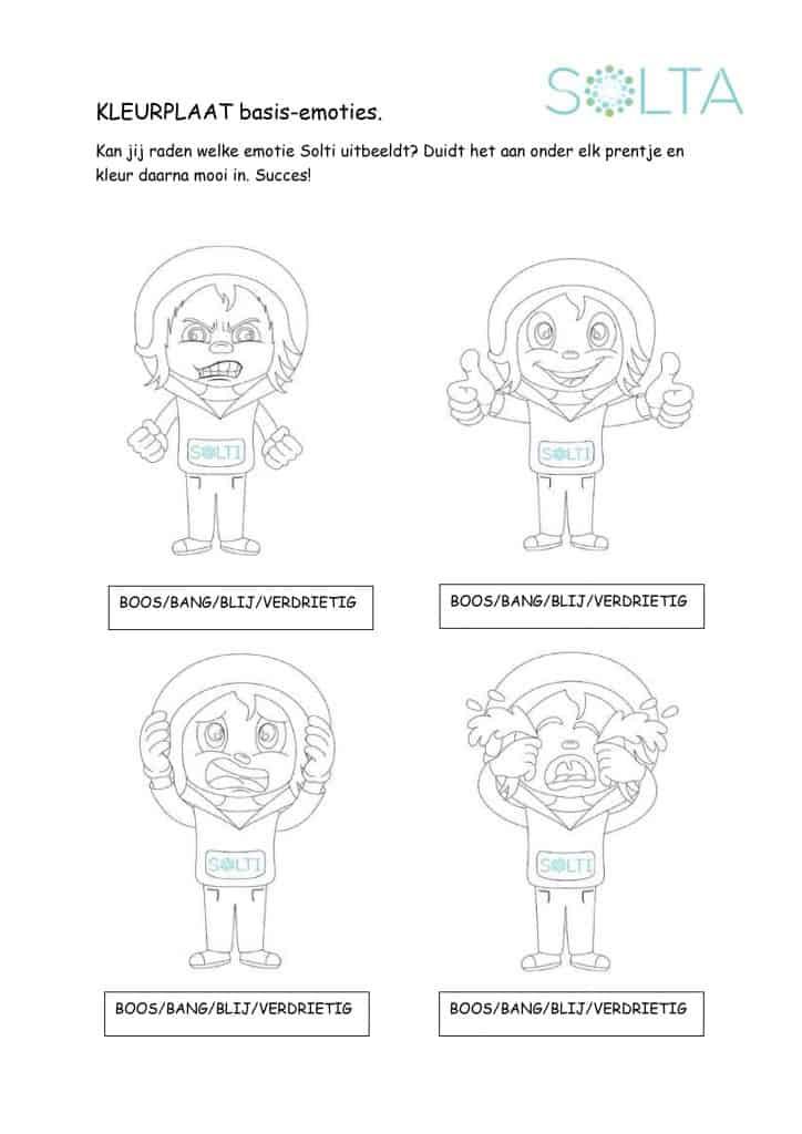 SOLTA solti kleurplaat basisemoties psycholoog psychotherapie kinderpsycholoog psychotherapie speltherapie cognitieve gedragstherapie oudenaarde maarkedal ename gavere zingem zwalm